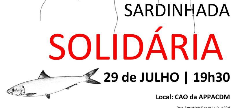 29 de Julho – Participe na Sardinhada Solidária da APPACDMMirandela!