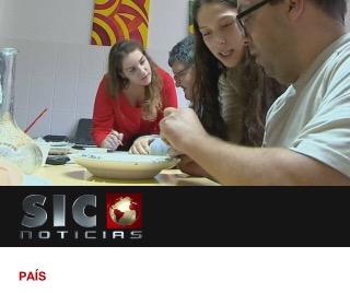 Vídeo SIC -Caloiros de Mirandela visitam instituição de apoio adeficientes
