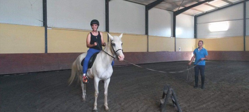 Sessão de Equitação