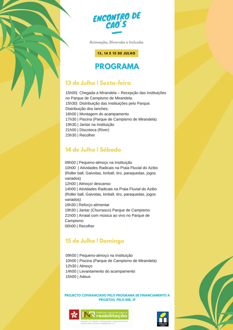 Yellow with Palm Leaves Summer Camp Flyer (3)